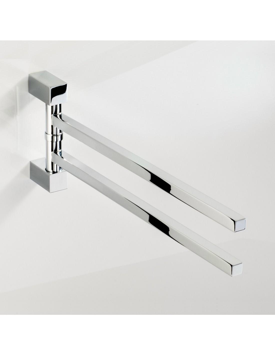 Porte serviette double corner for Porte serviette double