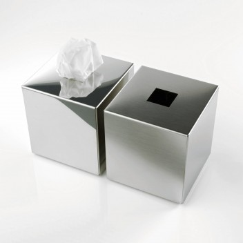 Boîte à mouchoirs design carrée