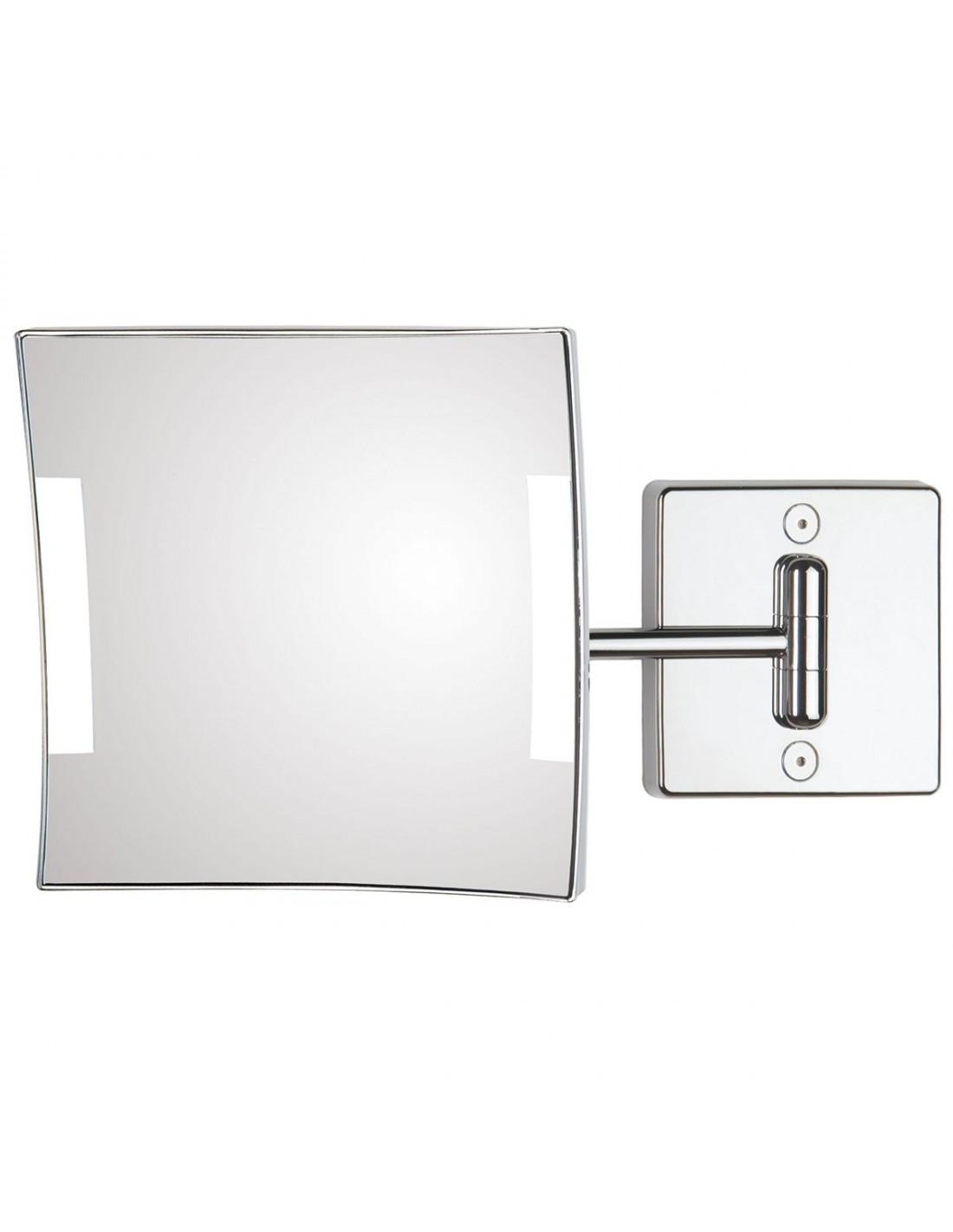 Miroir clairant mural quadrolo led for Miroir led 50