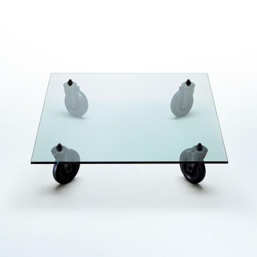 Table Tavolo Con Ruote L120