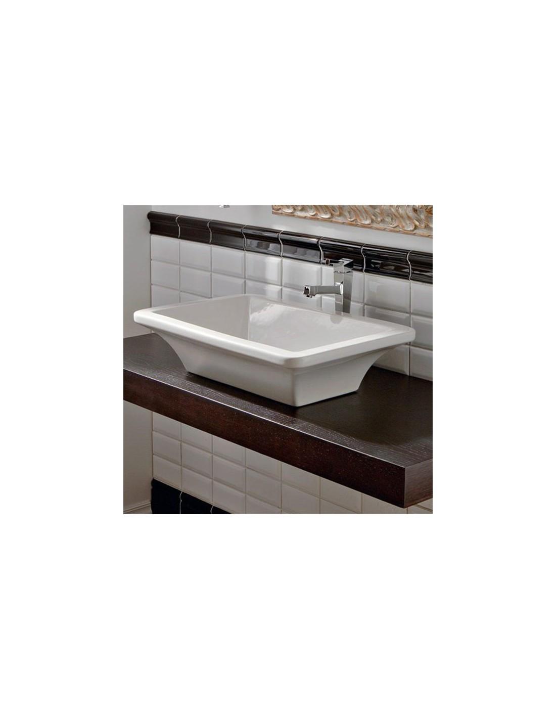 vasque poser butterfly 60 valente design. Black Bedroom Furniture Sets. Home Design Ideas