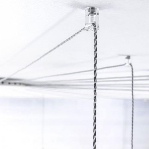 Cylindre plafond pour câble suspension