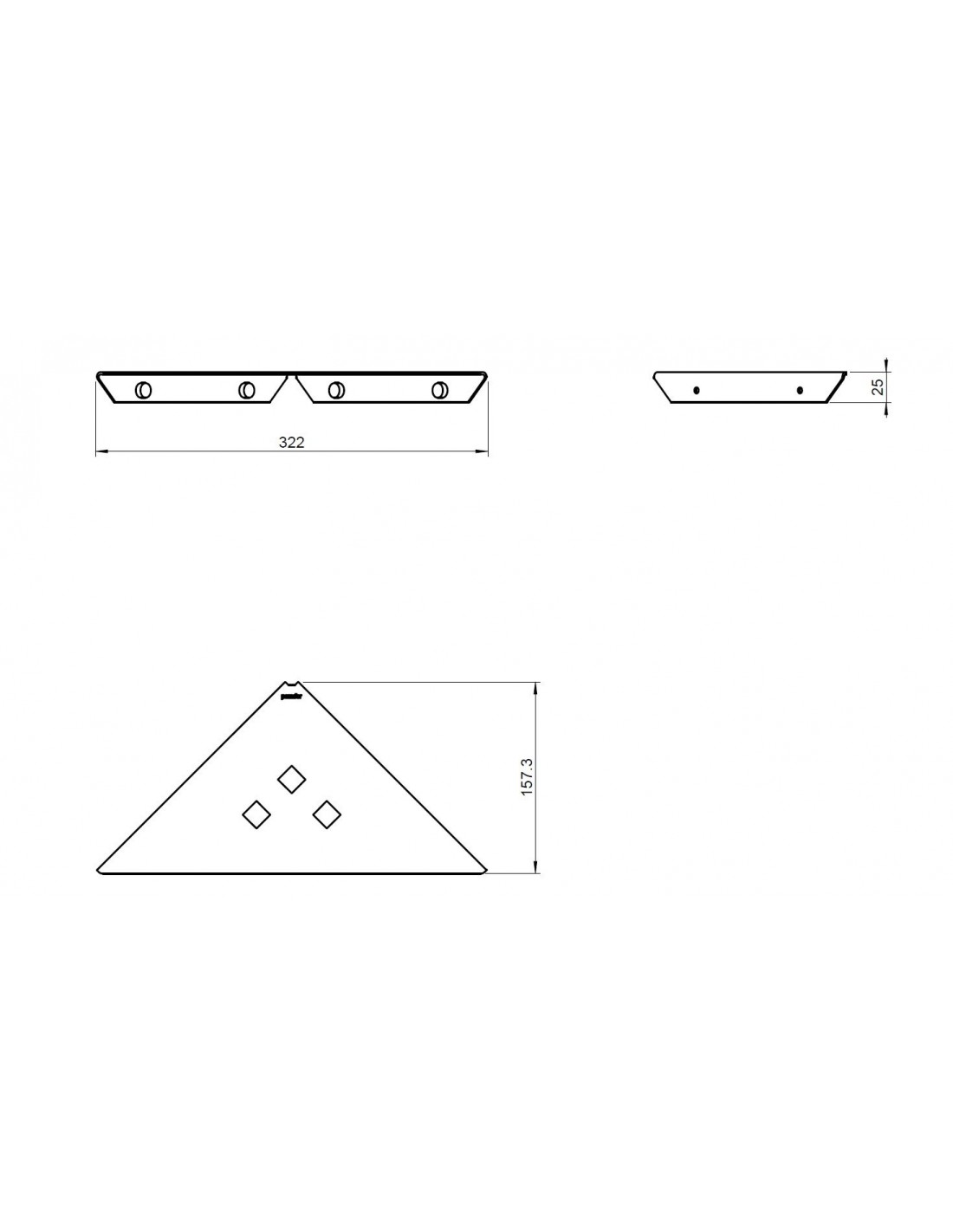 porte savon d 39 angle metric. Black Bedroom Furniture Sets. Home Design Ideas