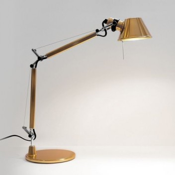 Lampe de table Tolomeo Micro Gold
