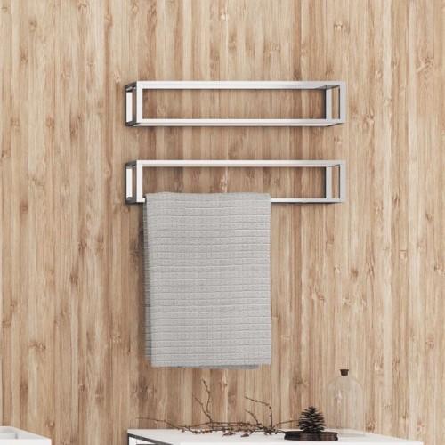 Porte serviette 55 cm et porte produits the grid