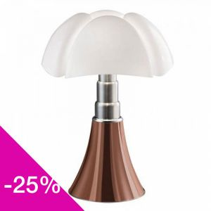 Lampe de table Pipistrello Cuivre LED