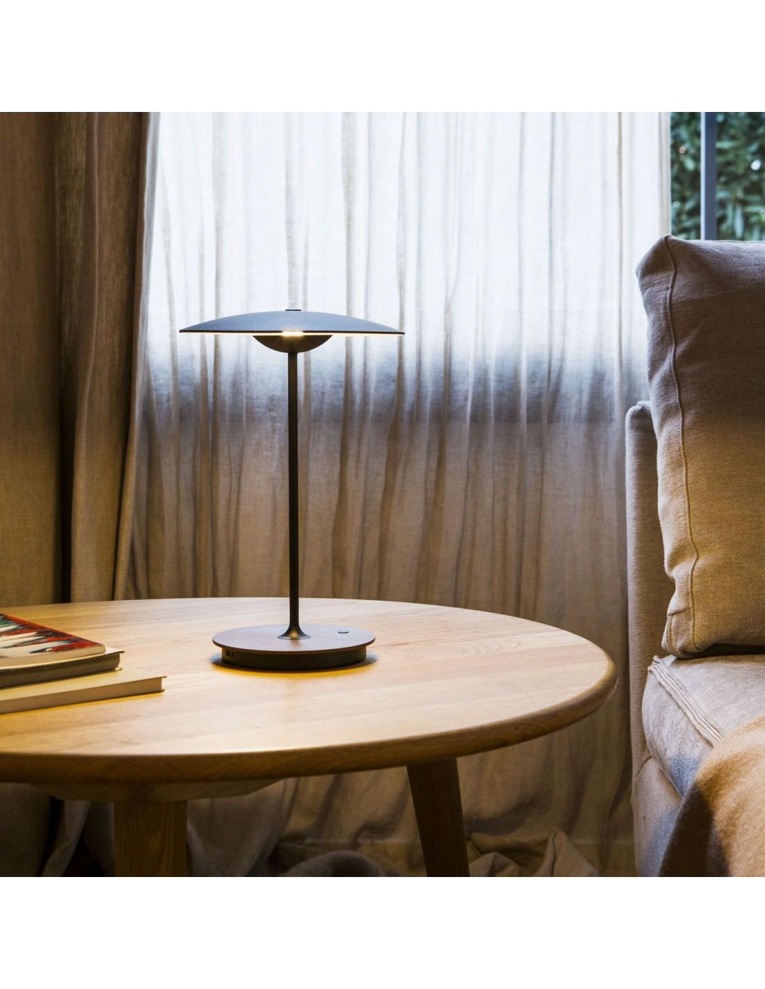lampe poser sans fil rechargeable ginger. Black Bedroom Furniture Sets. Home Design Ideas