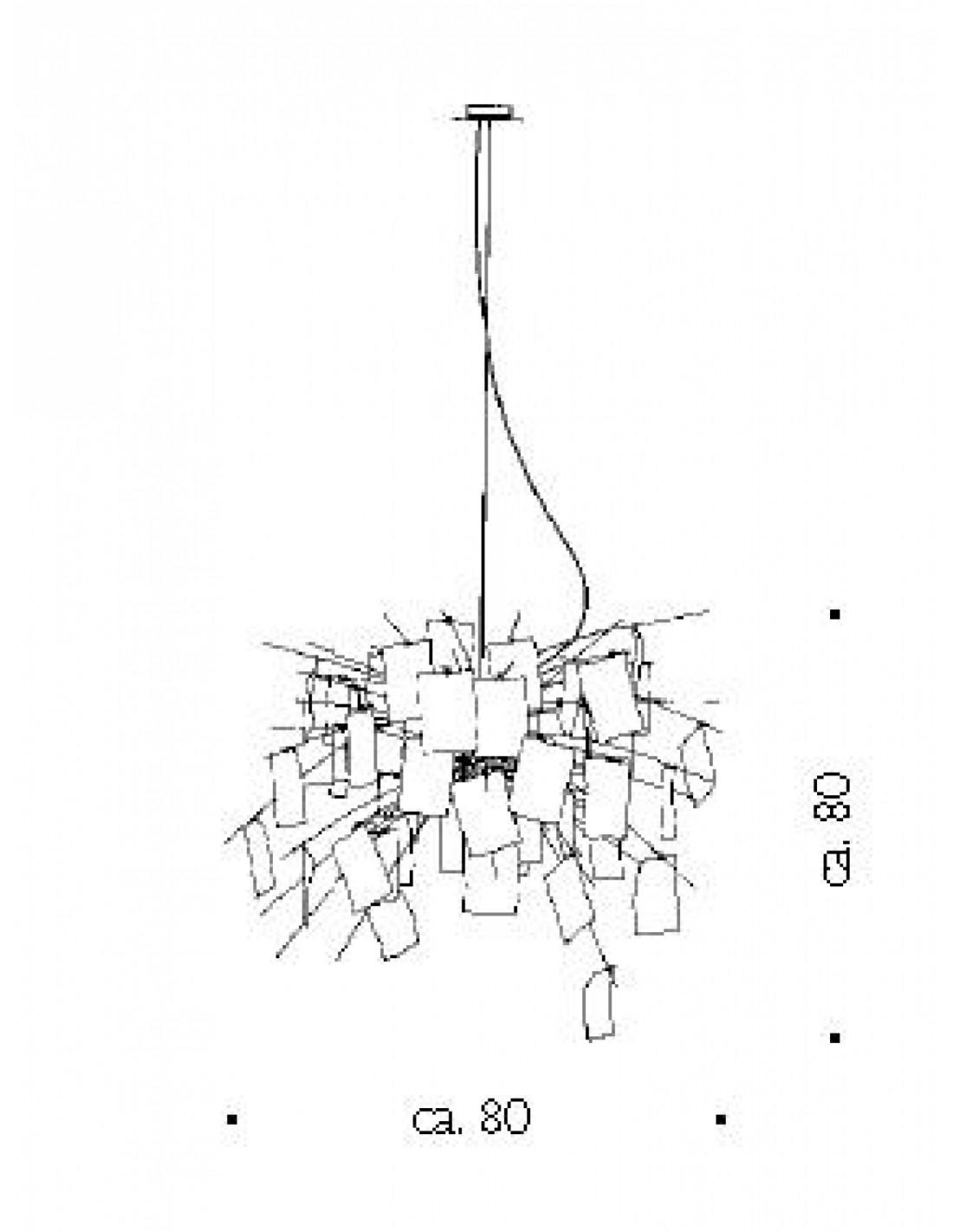 suspension zettel 39 z 6. Black Bedroom Furniture Sets. Home Design Ideas