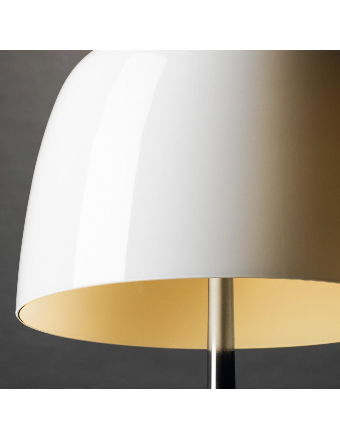 lampe de table lumi re 05 grande aluminium poli. Black Bedroom Furniture Sets. Home Design Ideas