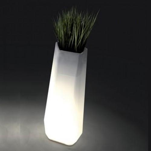 Pot de fleurs lumineux Rock Garden Grand Modèle