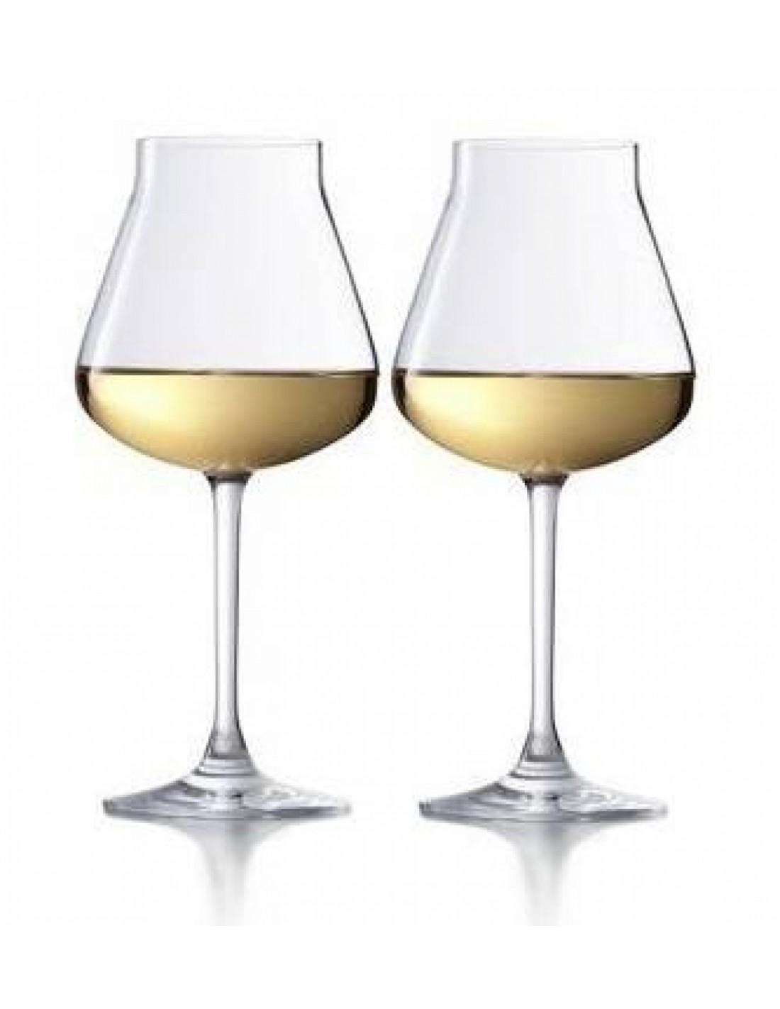 Ch teau baccarat verre vin blanc x 2 for Verre 51 piscine design tabac