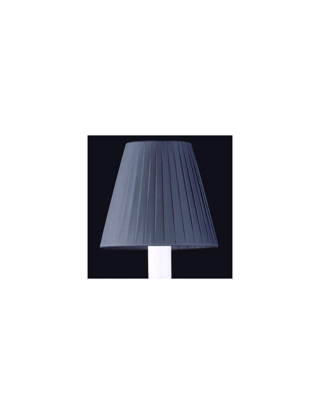 abat jour noir alu pliss zenith noir x 24. Black Bedroom Furniture Sets. Home Design Ideas