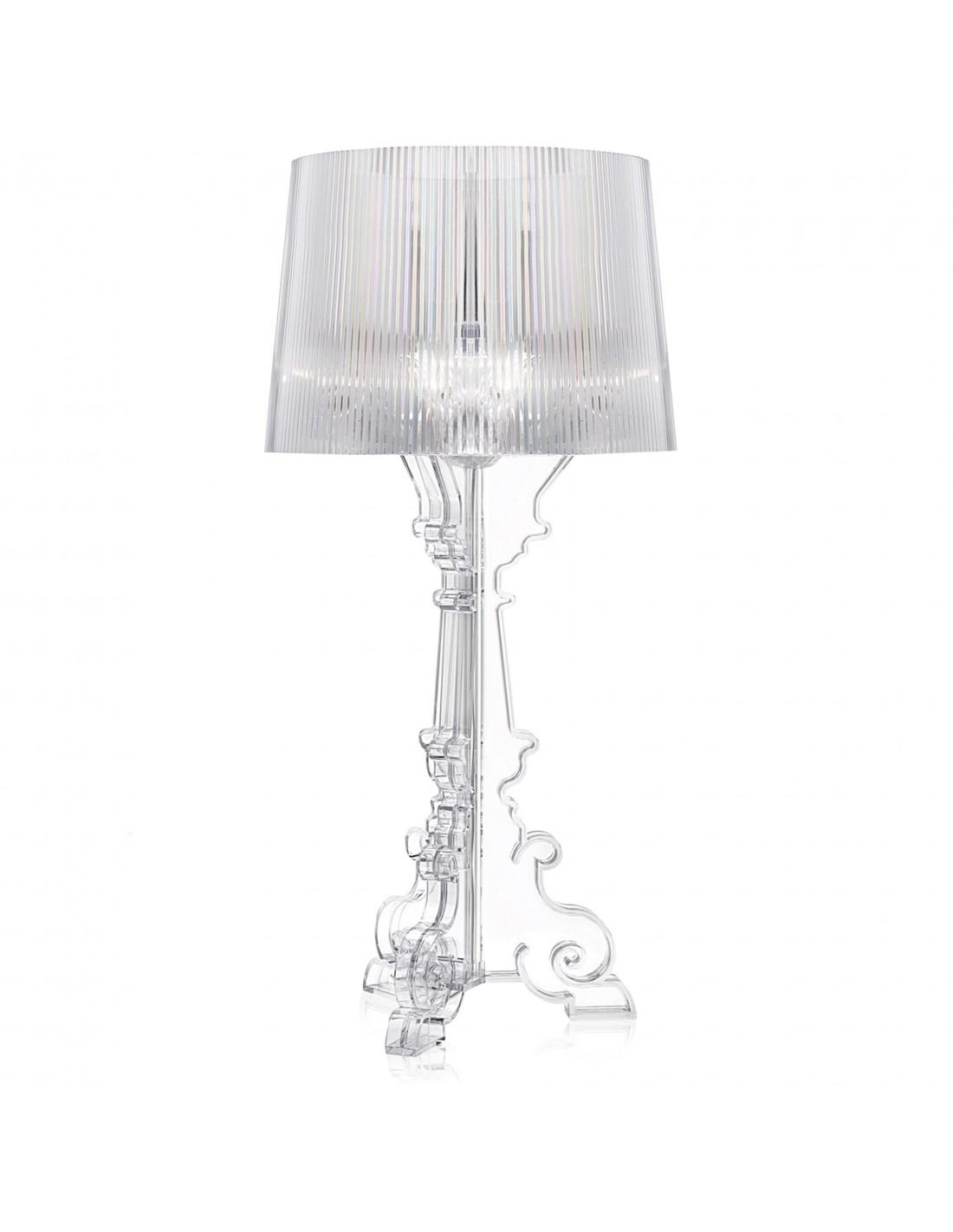 lampe de table bourgie cristal. Black Bedroom Furniture Sets. Home Design Ideas