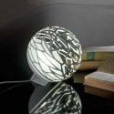 Lampe de table ronde design