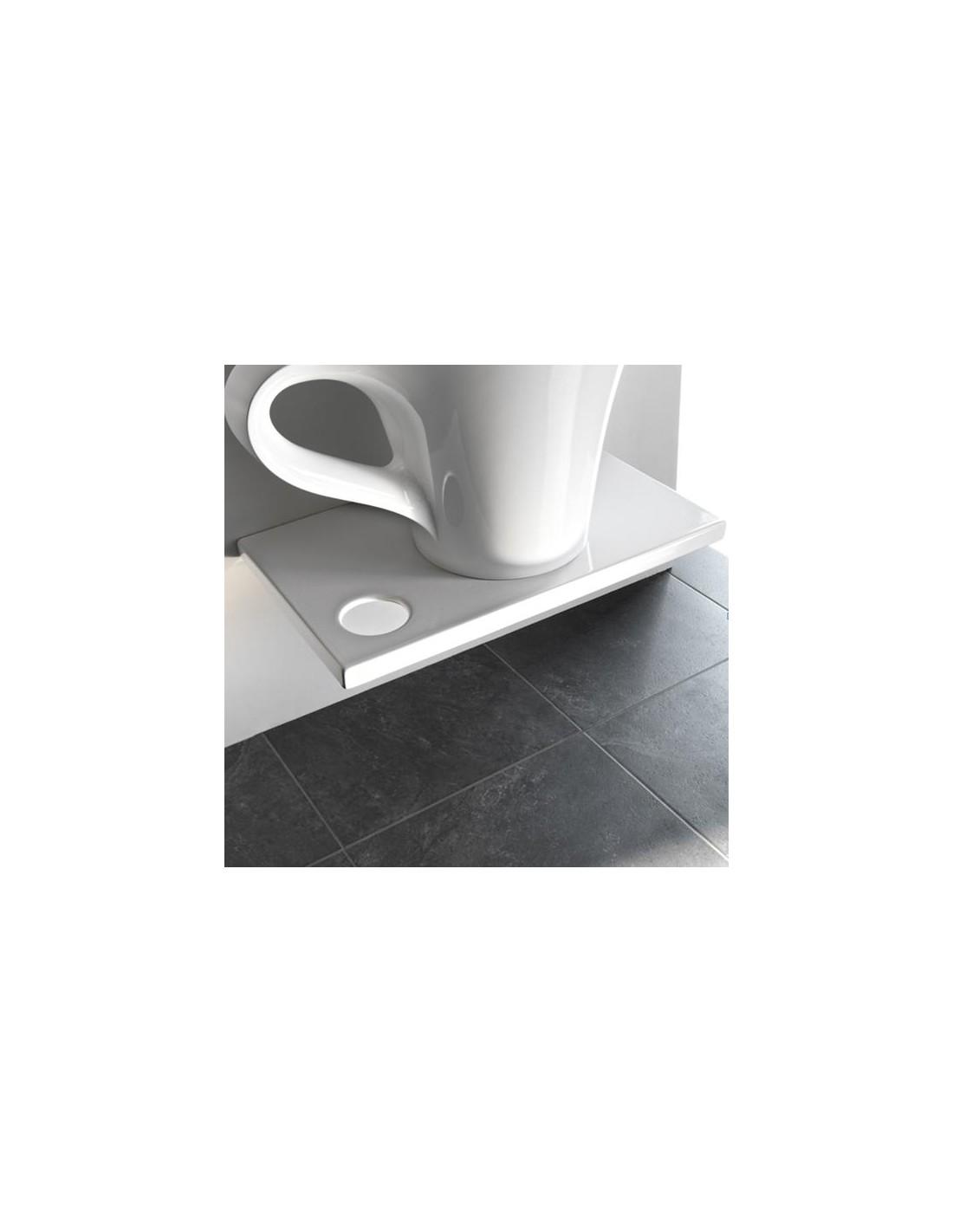 plan de toilette suspendu breakfast pour vasque cup. Black Bedroom Furniture Sets. Home Design Ideas