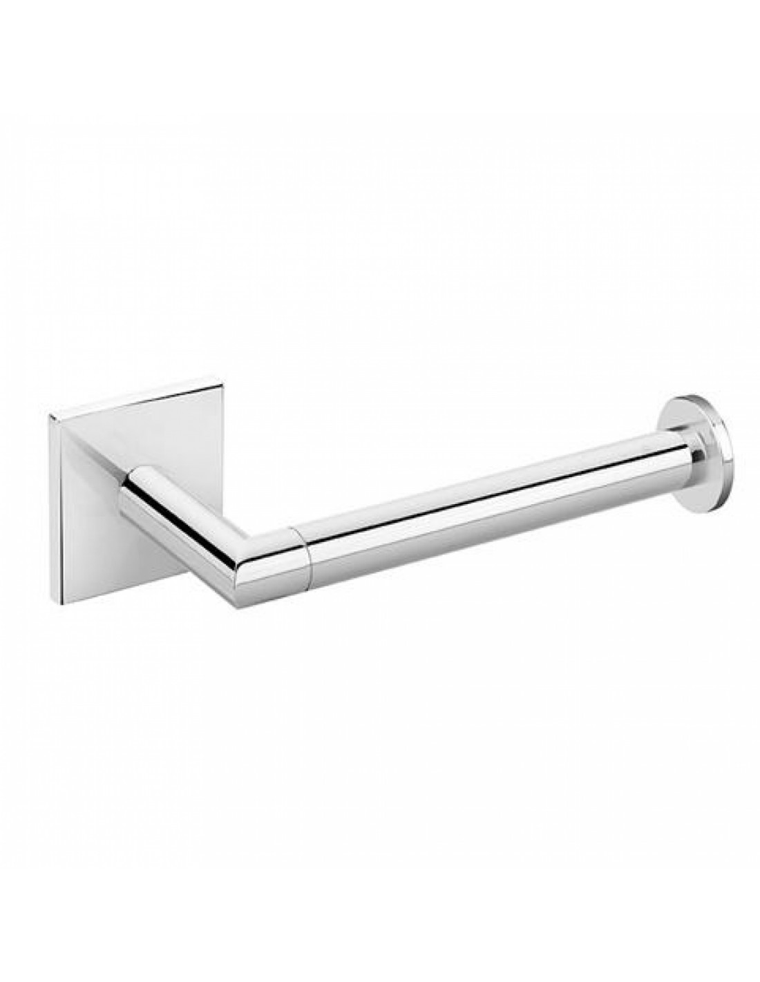 Porte rouleau coller duo square droite for Decoration a coller sur porte
