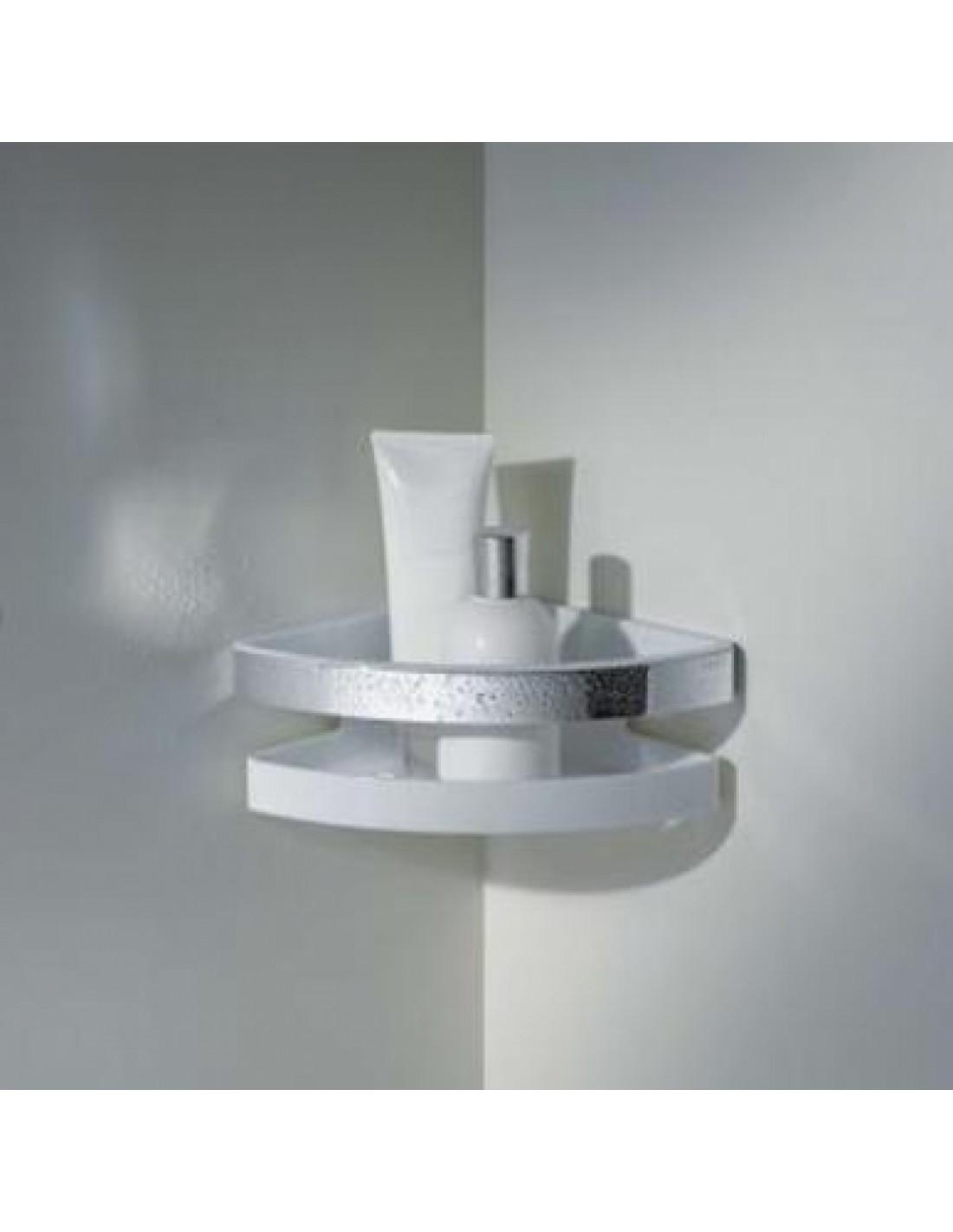 Porte savon d 39 angle de douche moll - Porte de douche d angle ...