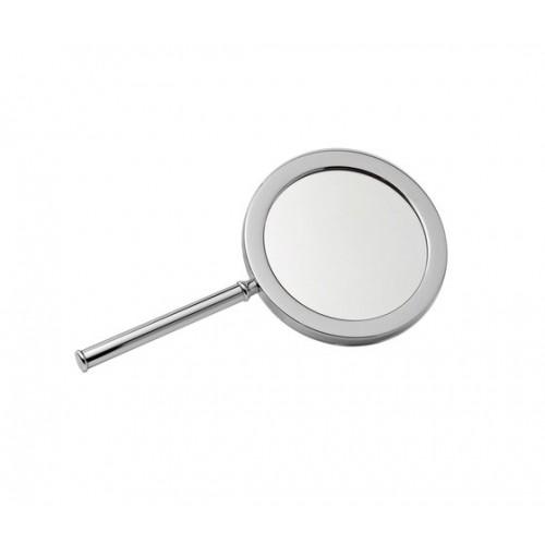 Miroir à main grossissant rétroéclairé