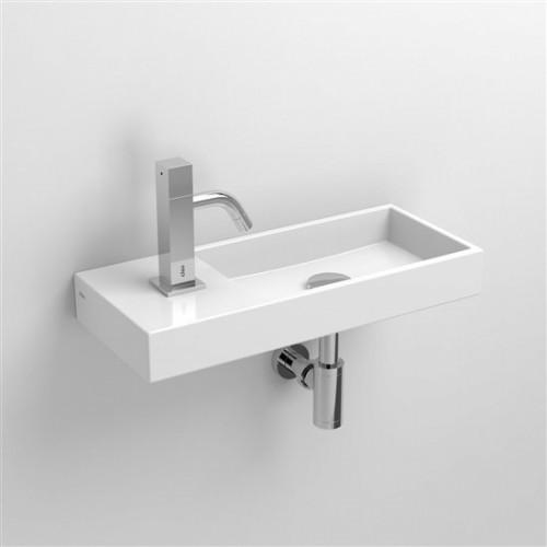 Lave mains 45 cm Mini Wash Me percement à gauche