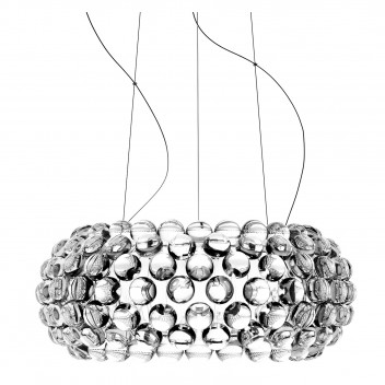 Suspension Caboche Grande LED avec variateur