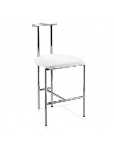 tabouret de douche avec dossier chrom. Black Bedroom Furniture Sets. Home Design Ideas