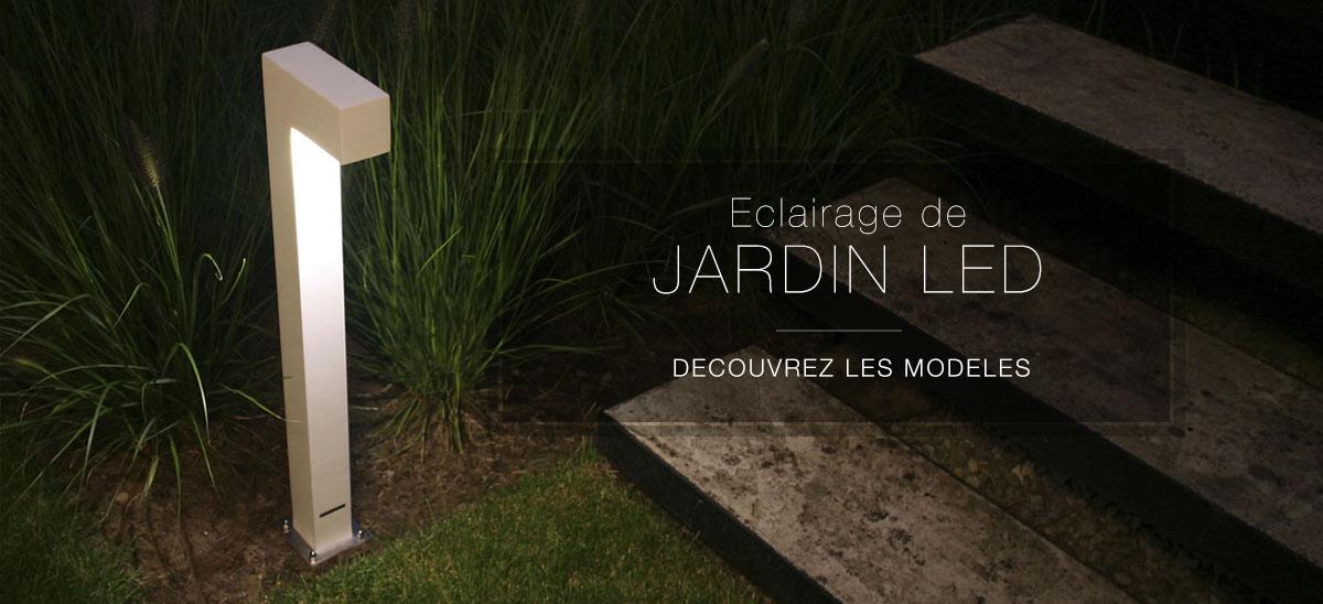 Clairage de jardin led valente design for Lampe de jardin led