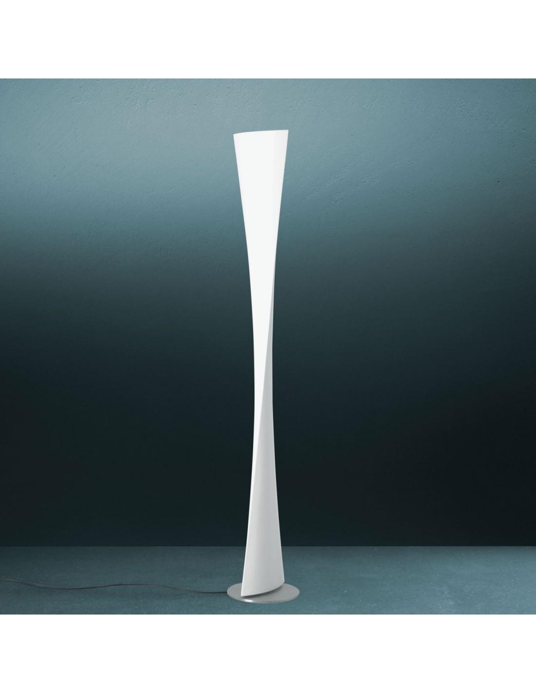 Lampadaire Espiral blanc fontana Arte - Valente Design