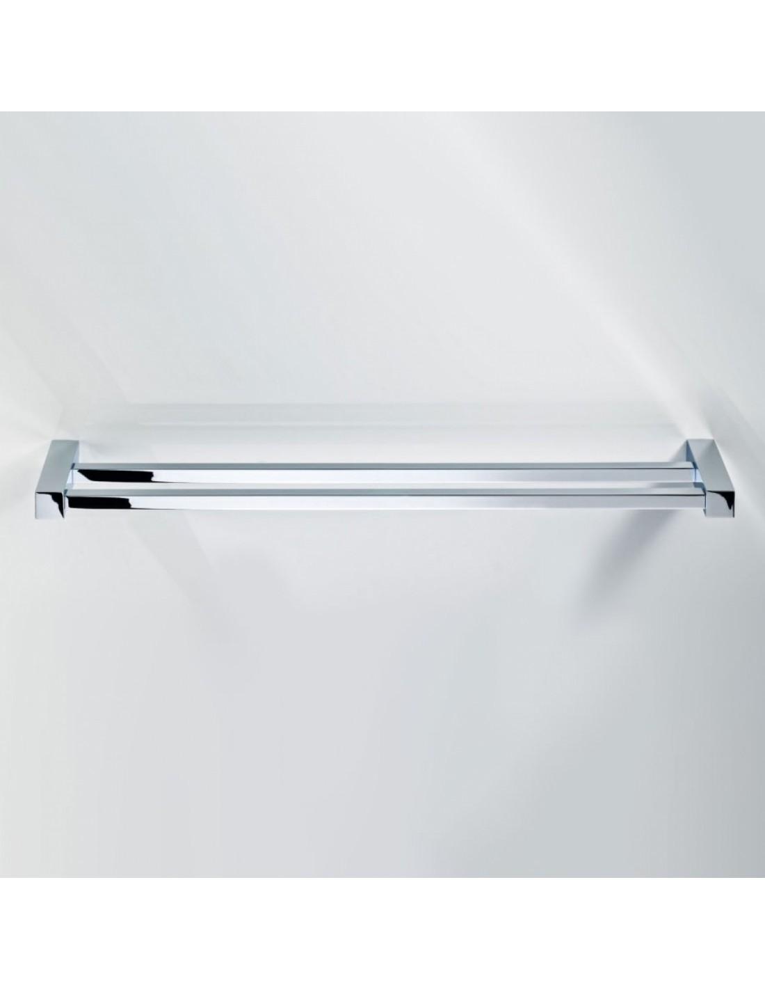 Porte serviette double 60 cm corner for Porte serviette double