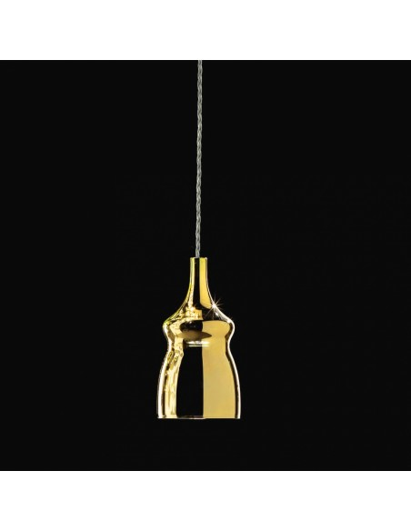 Suspension Nostalgia Glass Small cristal de Studio Italia Design