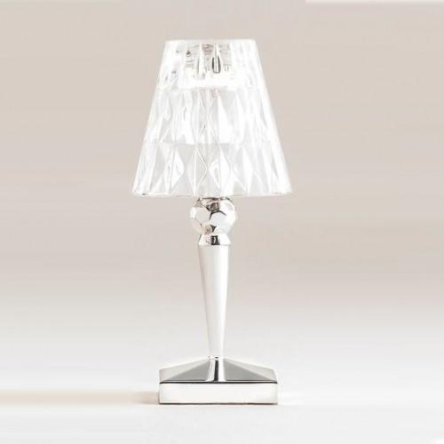Lampe de table sans fil Battery métallisée