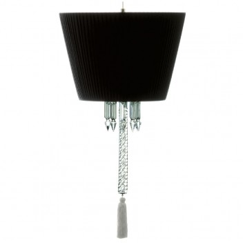 Suspension Torch abat-jour noir