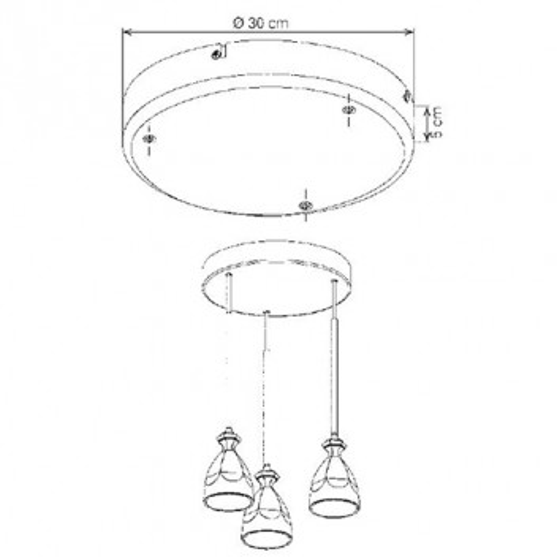 Cache circulaire 3 suspensions
