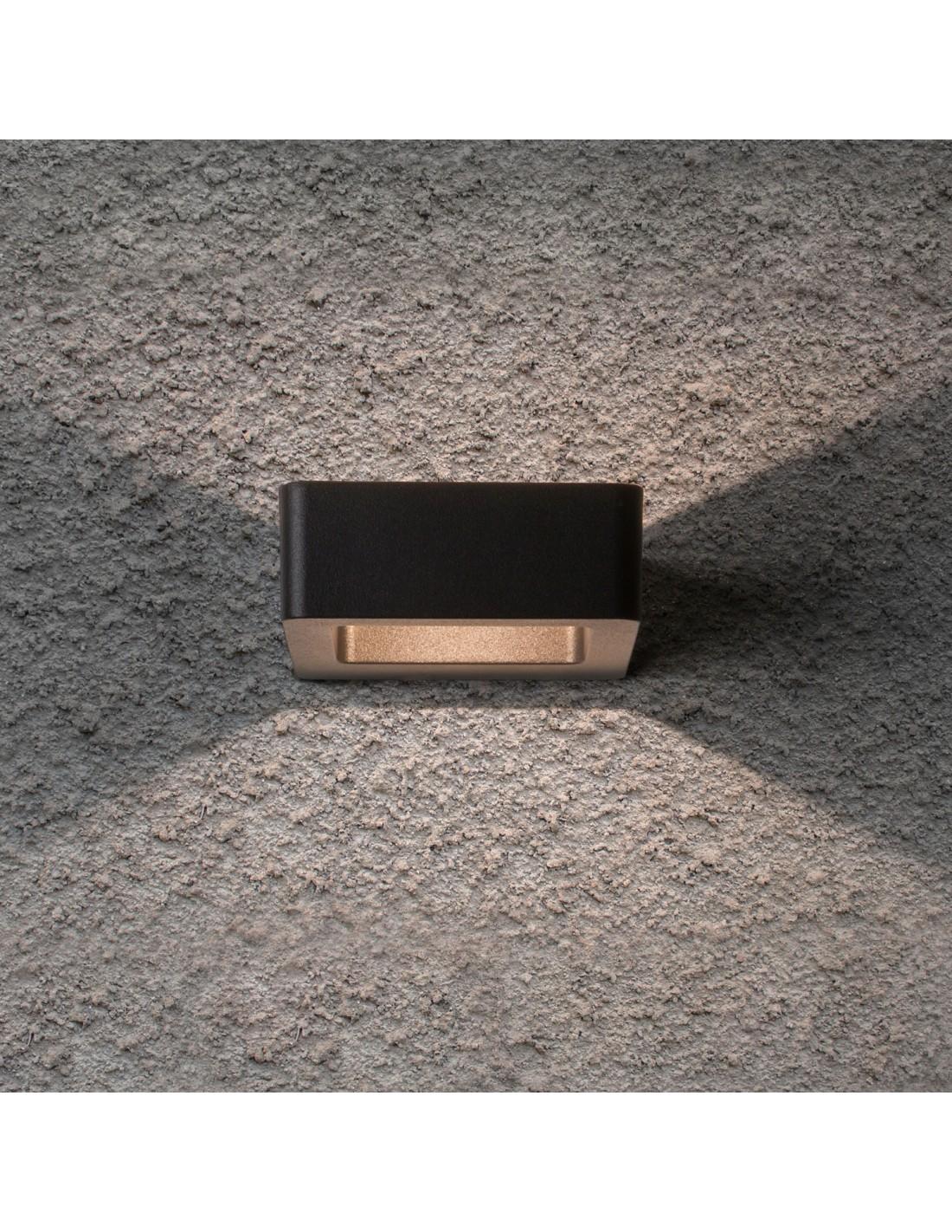 applique murale ext rieure napier wall led noir astro. Black Bedroom Furniture Sets. Home Design Ideas