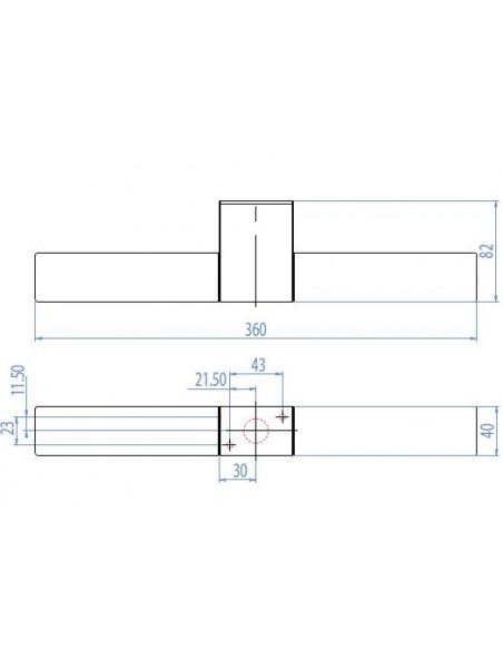 aApplique Padova Round plan astro lighting