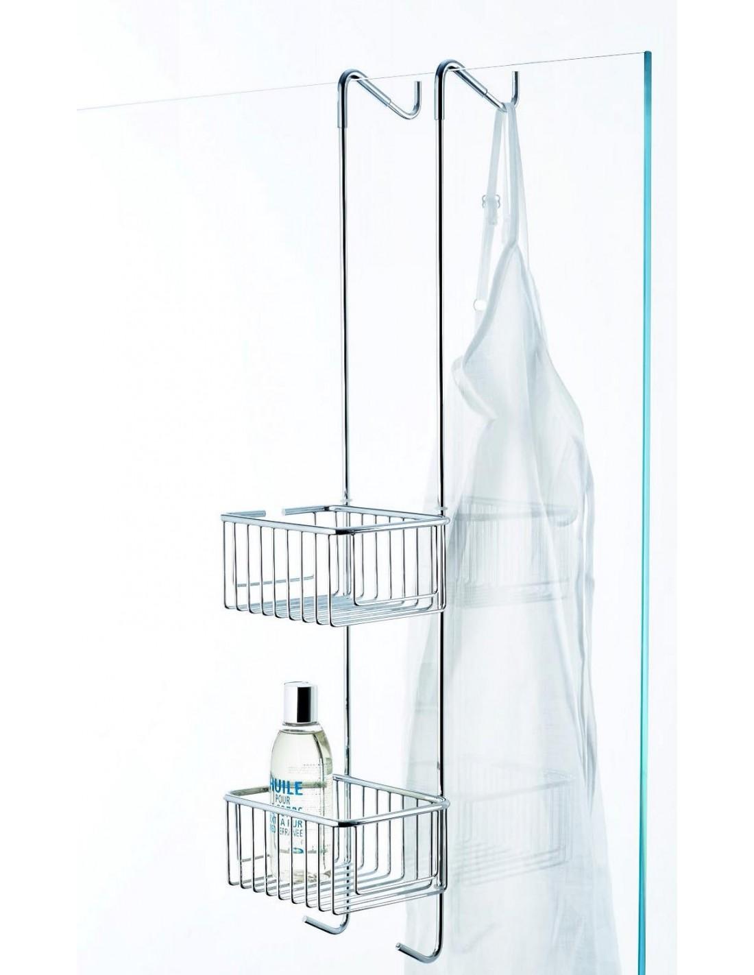 panier de douche double suspendre. Black Bedroom Furniture Sets. Home Design Ideas