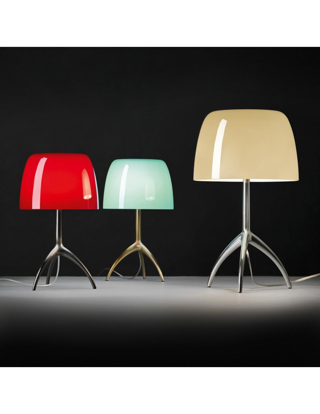 lampe de table lumi re 05 grande chrome noir. Black Bedroom Furniture Sets. Home Design Ideas