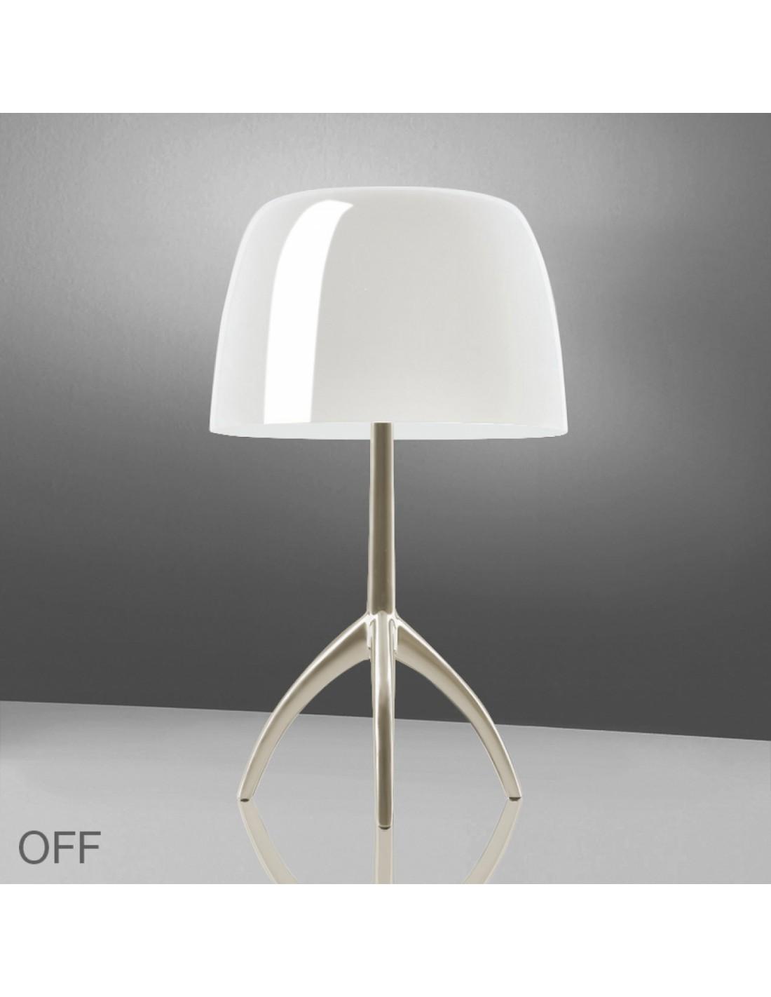 Lampe de table Lumière 05 Grande Champagne blanc