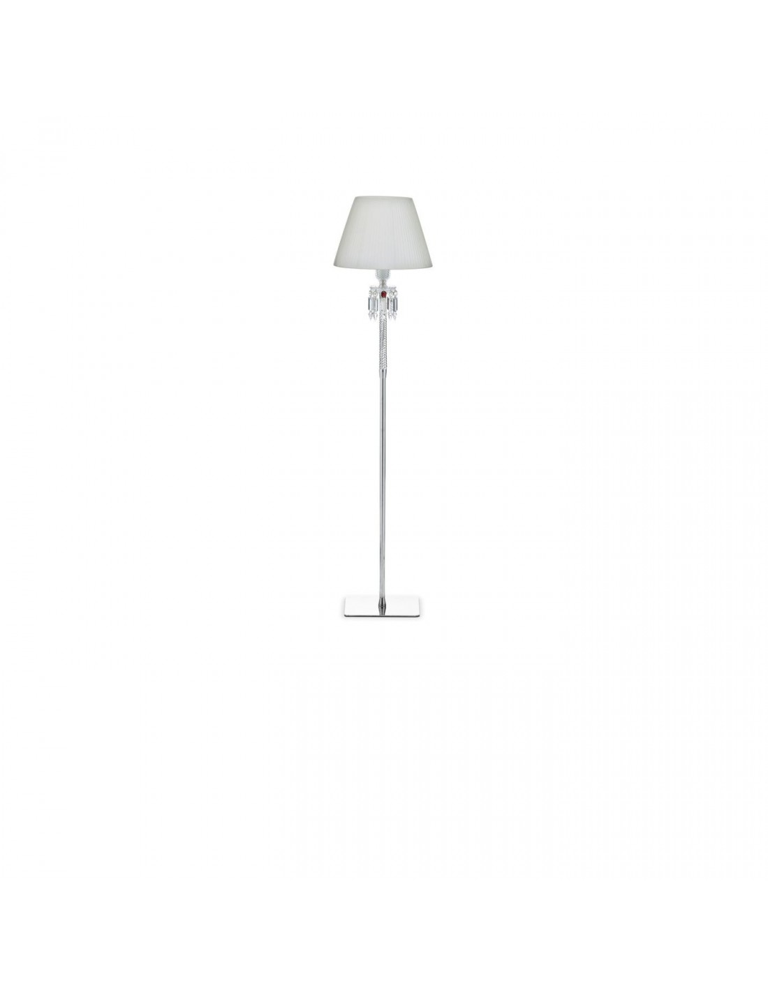 lampadaire torch abat jour blanc. Black Bedroom Furniture Sets. Home Design Ideas