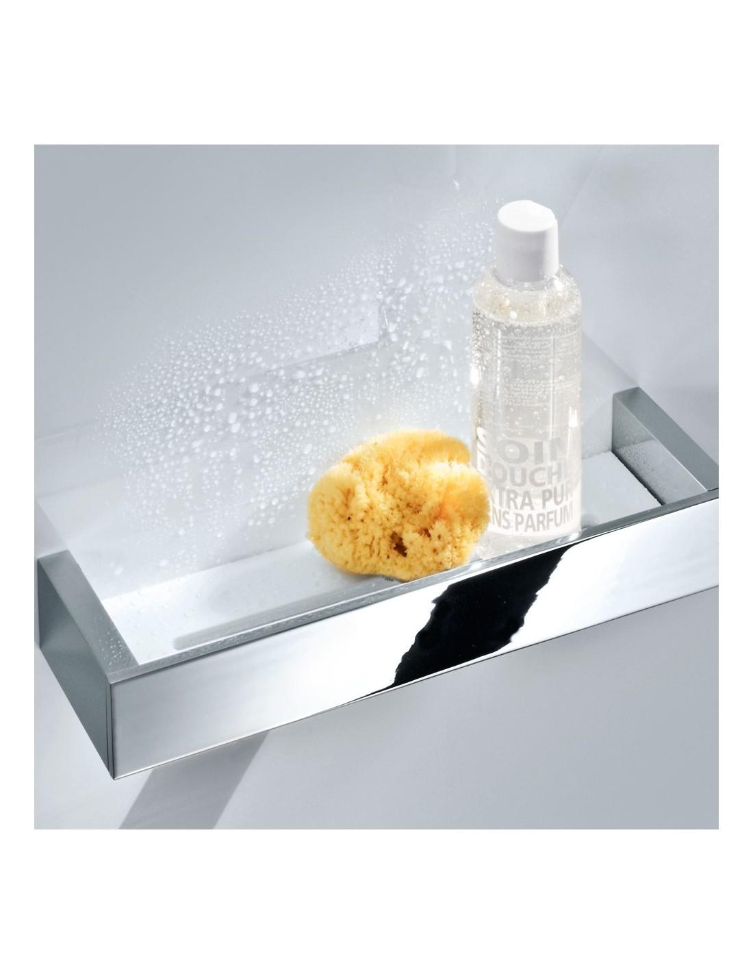 Etagère de douche Brick GM chrome Decor Walther