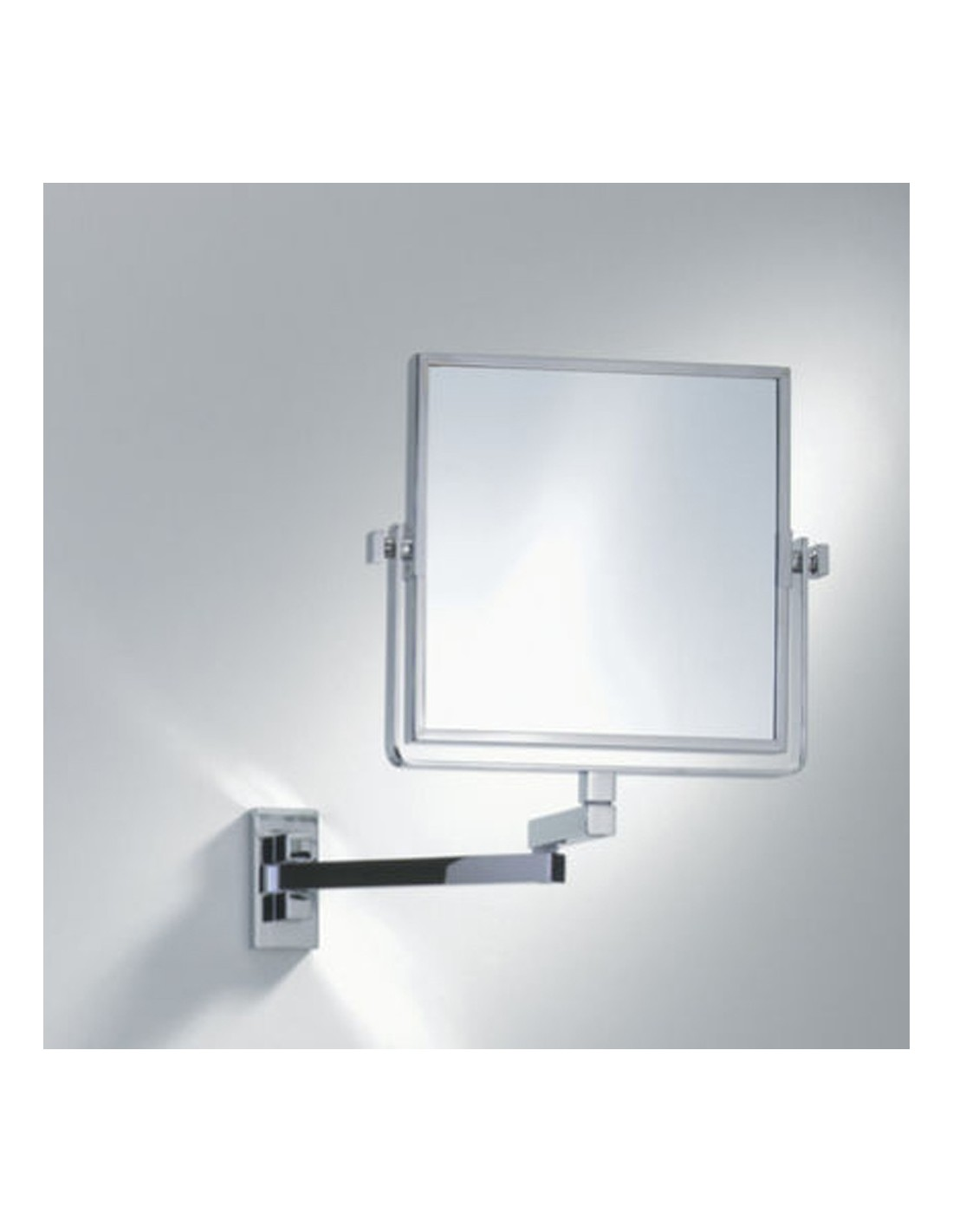 Miroir grossissant carr for Miroir grossissant lumineux