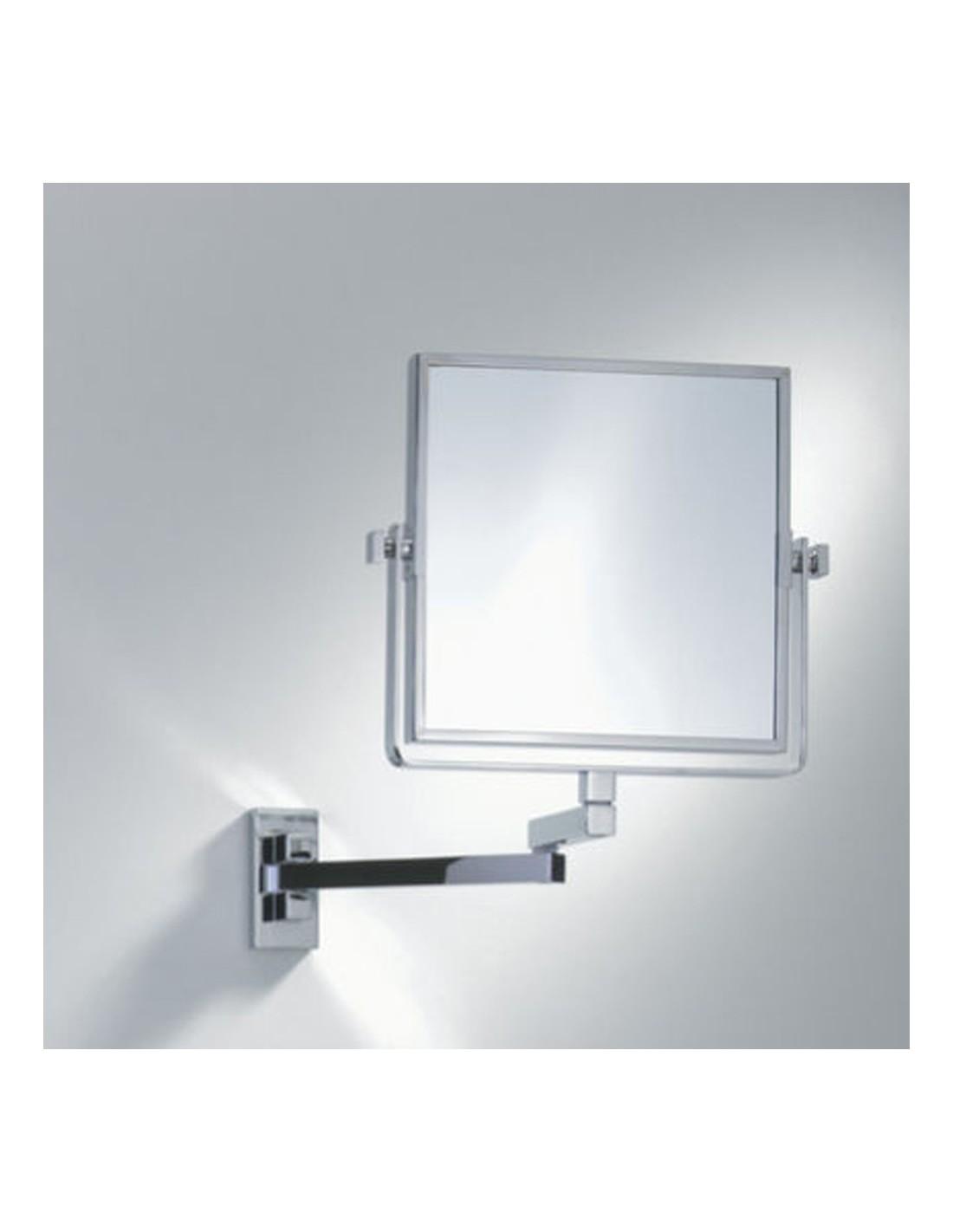 Miroir grossissant carr for Miroir grossissant