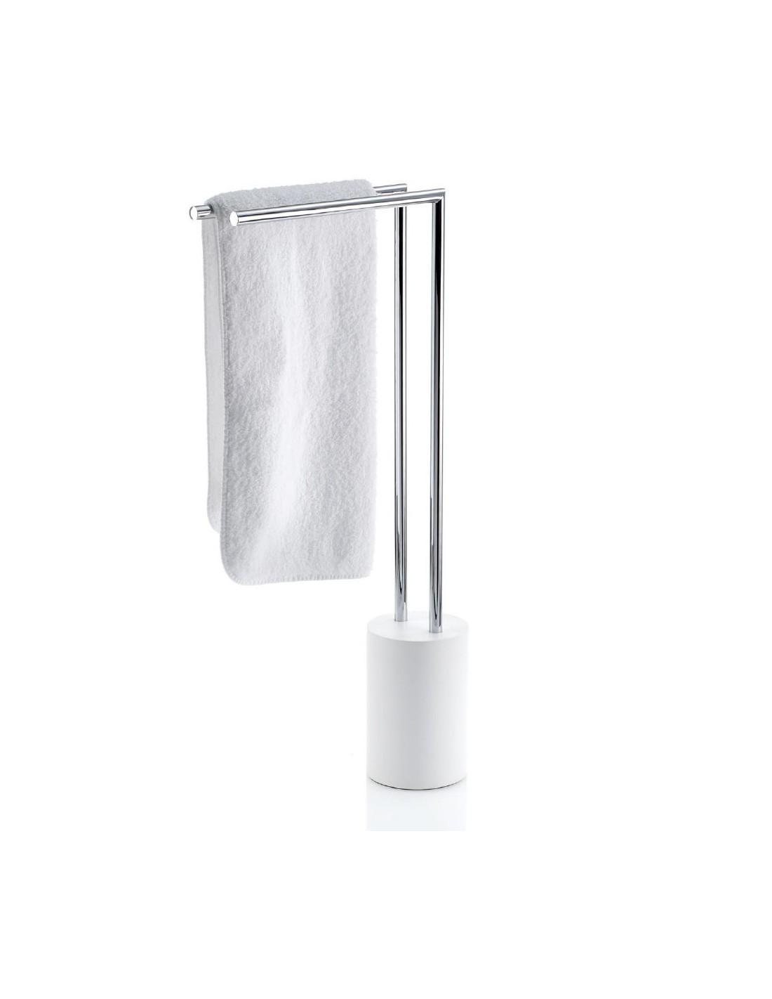 Porte serviettes Stone à poser chromé  Decor Walther