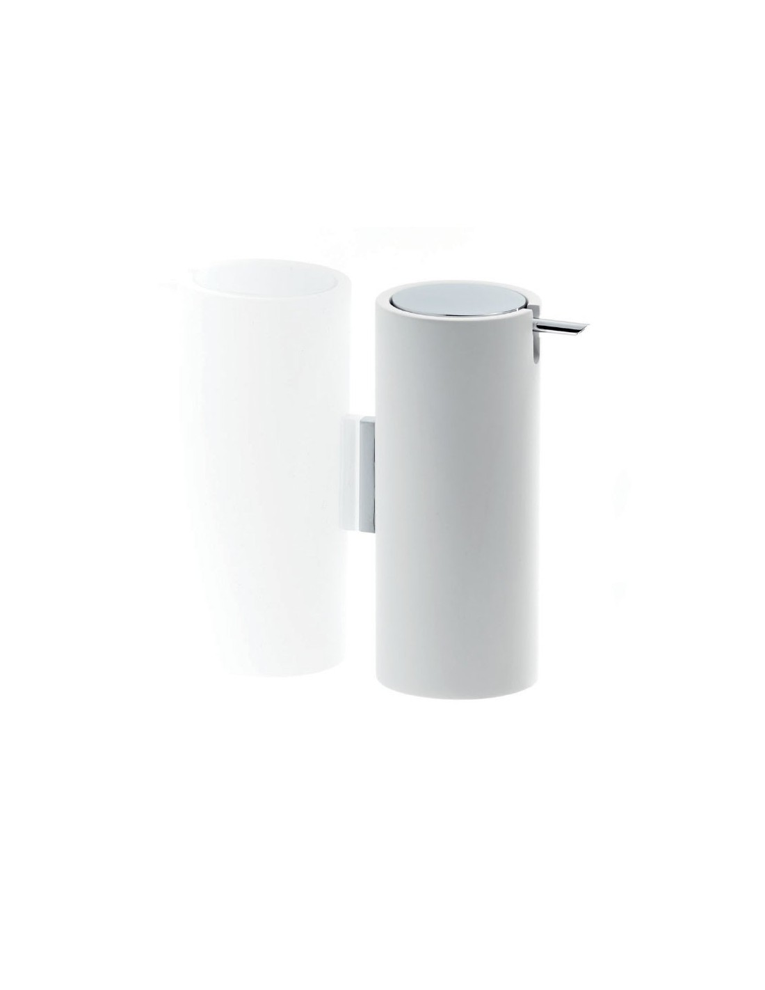 Distributeur de savon liquide mural STONE blanc Decor Walther