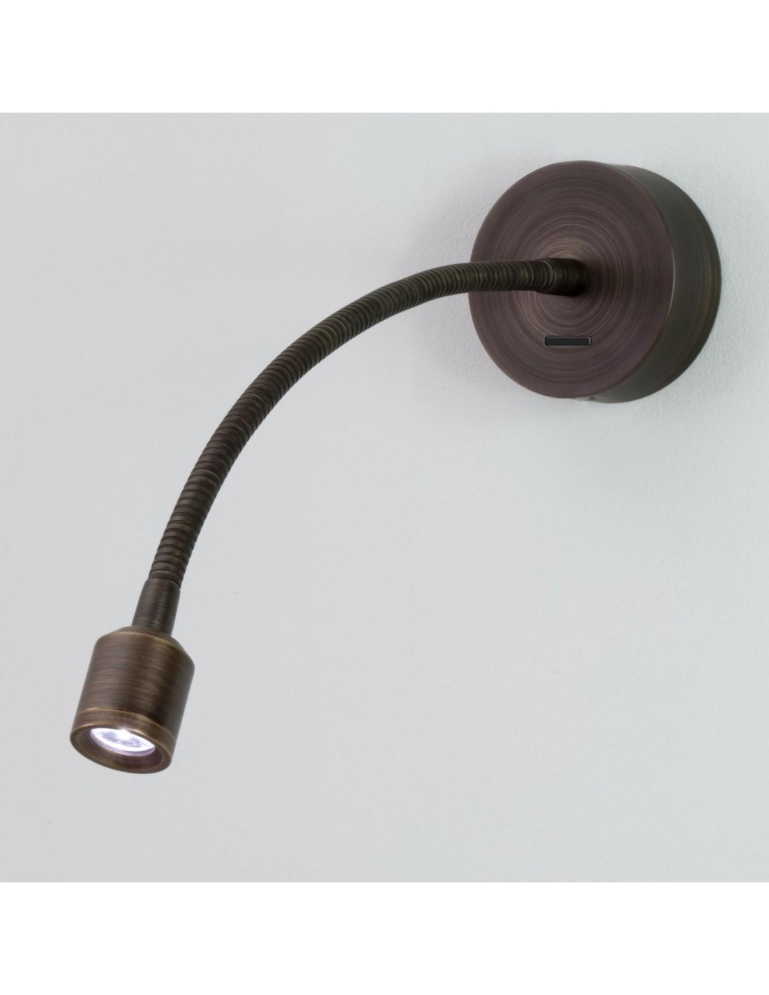 applique fosso switched astro lighting bronze. Black Bedroom Furniture Sets. Home Design Ideas
