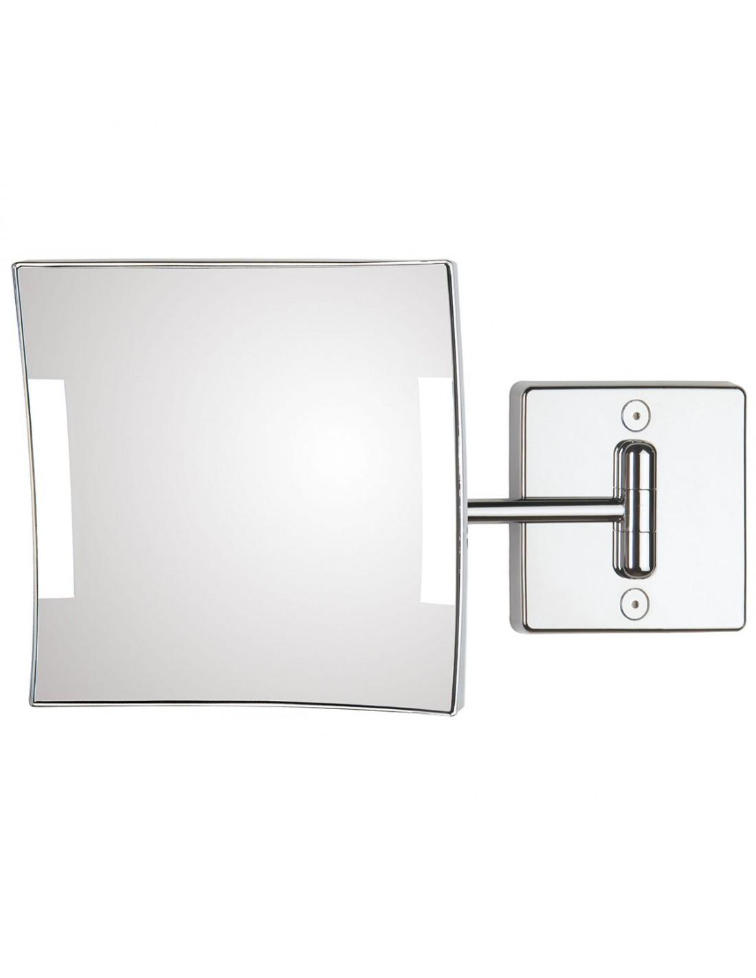 Miroir éclairant mural Quadrolo led