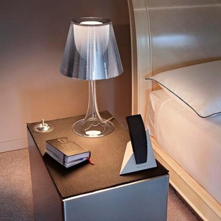 Lampe de chevet Miss K grise de flos - Philippe Starck - Valente Design