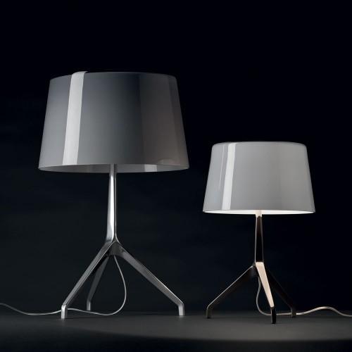 Lampe de table Lumière XXL Aluminium poli