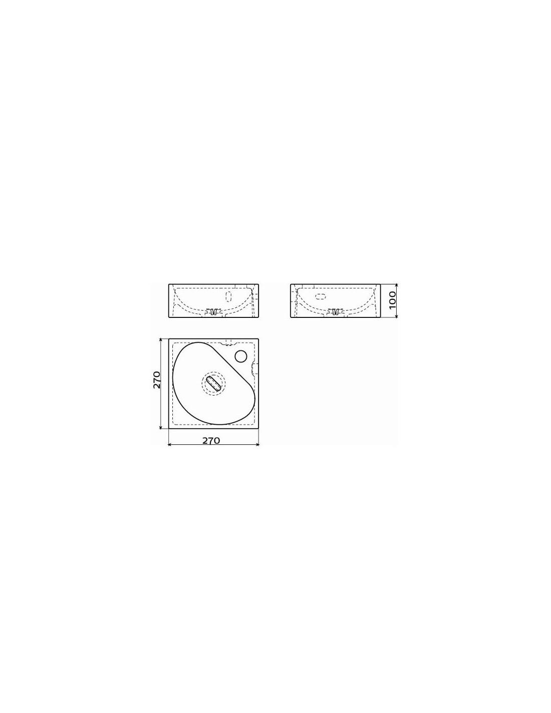 lave mains d 39 angle flush. Black Bedroom Furniture Sets. Home Design Ideas