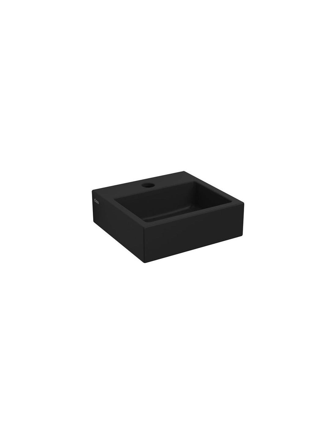 lave mains flush 1 noir mat pour la marque clou. Black Bedroom Furniture Sets. Home Design Ideas