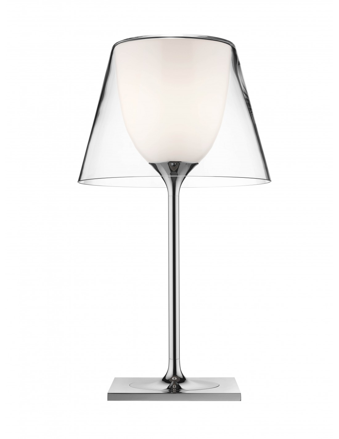 Lampe de table Ktribe T1 Glass - designer Philippe Starck - marque FLOS - revendeur Valente Design